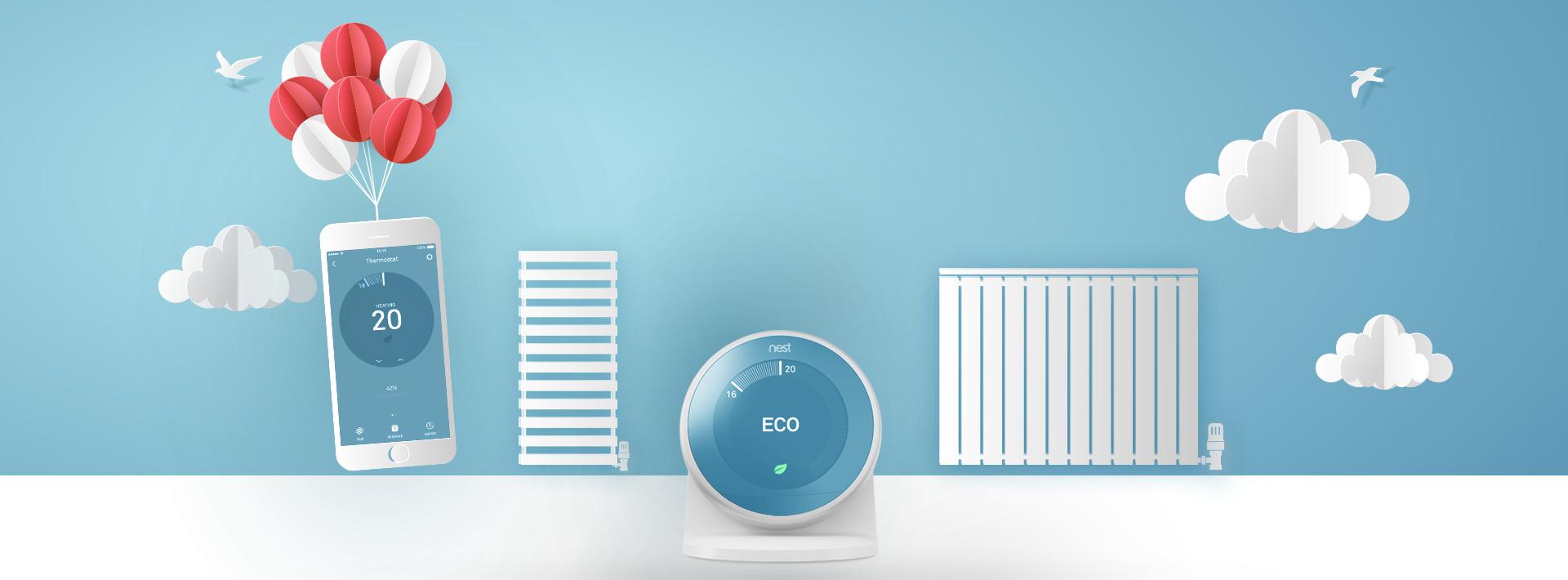 Smart Heating, Radiators and TRVs