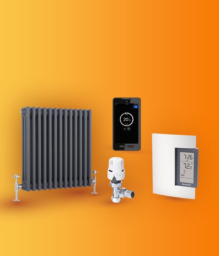 GREAT VALUE RADIATORS, THERMOSTATS, TRVs & SMART HEATING ALL AVAILABLE
